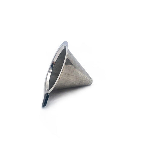 Brew Tool Stainless Steel Metal Filter Cone