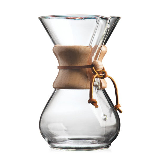 Chemex Pour-Over Coffee Maker Cape Coffee Beans