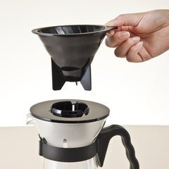 Hario V60 Iced Coffee Maker With Lid Removed