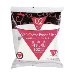 Hario V60 Coffee Dripper Paper Filters Size 02