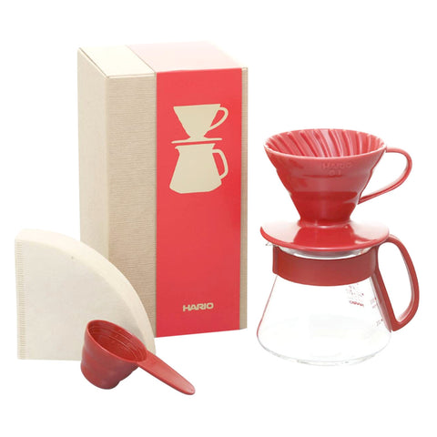 Hario Red V60 Dripper Bundle