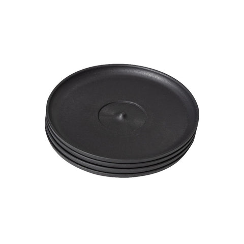 Huskee Cup Saucers Charcoal