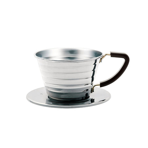 Kalita Wave 155 1-2 Cup Stainless Steel Pour-Over Dripper