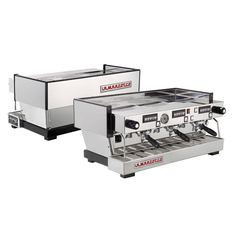 La Marzocco Linea Classic Espresso Machine 3 Group AV Front & Back View