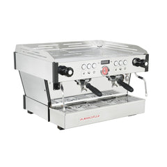 La Marzocco Linea PB Commercial Espresso Machine 2 Group (AV) Side View