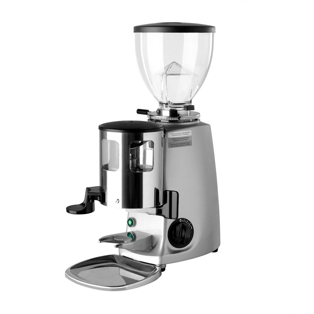 Mazzer Mini Espresso Grinder With Doser In Silver