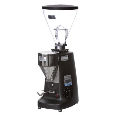 Mazzer Super Jolly Electronic OD Espresso Grinder Black Front Angle