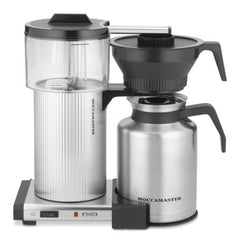Technivorm MoccaMaster CDT Grand Thermos Filter Coffee Machine Silver