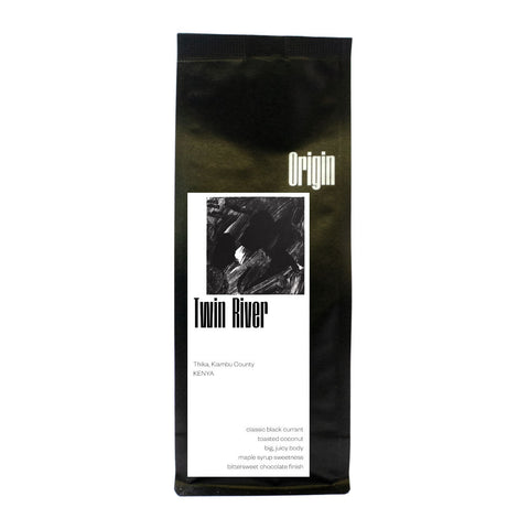 Origin Kenya Twin River Coffee Bag