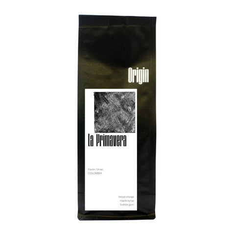 Origin Coffee Roasting Colombia La Primavera Bag Of Coffee Beans