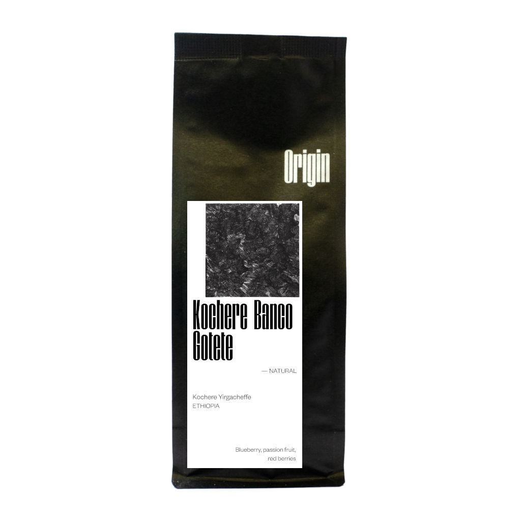 Origin Coffee Roasting - Ethiopia Yirgacheffe Kochere Natural Coffee Beans