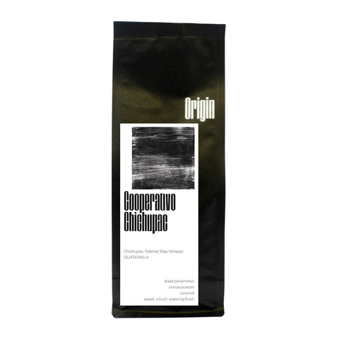 Origin Coffee Roasting Guatemala Chichupac Bag