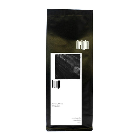 Origin Coffee Roasting Tanzania Lunji Bag Of Coffee Beans