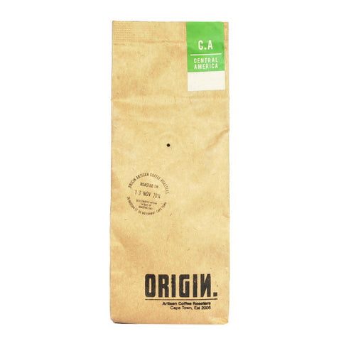 Origin Coffee Roasting Central American Coffee Bag
