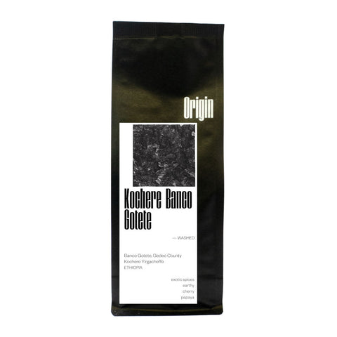 Origin Ethiopia Kochere Banco Gotete Washed Coffee Beans