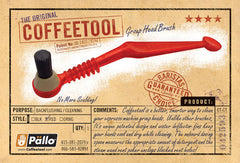 Pallo Coffeetool Grouphead Brush Postcard Front