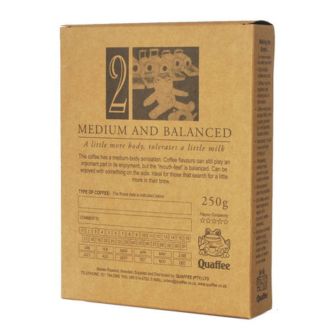 Quaffee Half Decaf Coffee Bean Blend