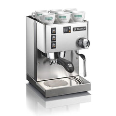 Rancilio Silvia Espresso Machine Angle View