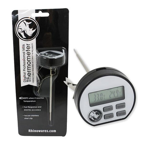 Rhinowares Digital Milk Frothing Thermometer
