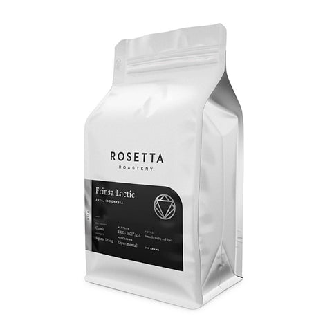 Rosetta Roastery Indonesia Frinsa Lactic Experimental Process Coffee Beans