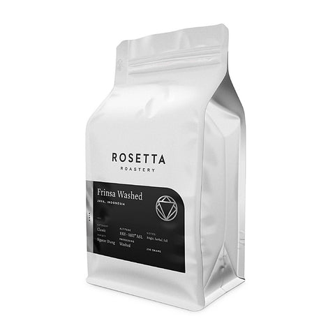 Rosetta Roastery Indonesia Frinsa Washed Coffee Beans