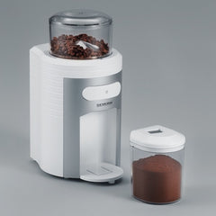 Severin Coffee Grinder On Grey Background