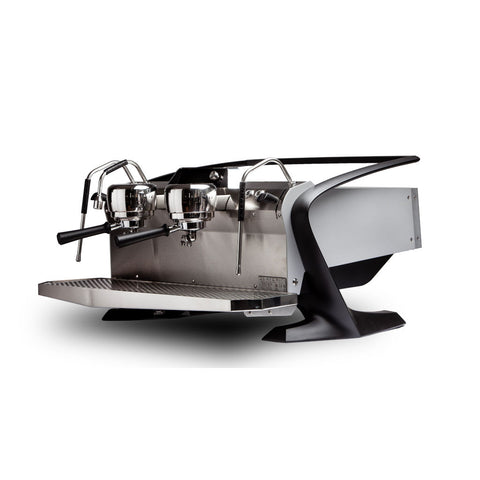 Slayer Steam EP Commercial Espresso Machine 2 Group Front Angle