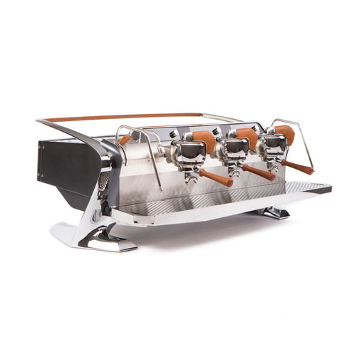 Slayer Steam X Commercial Espresso Machine 3 Group Black Front Angle