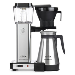 Technivorm MoccaMaster Thermos Filter Coffee Machine Polished Silver