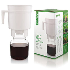 Toddy Cold Brew Coffee Maker Next To Box