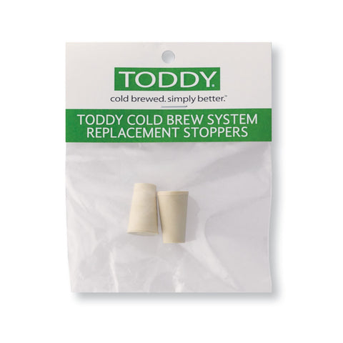 Toddy Replacement Stoppers 2-Pack