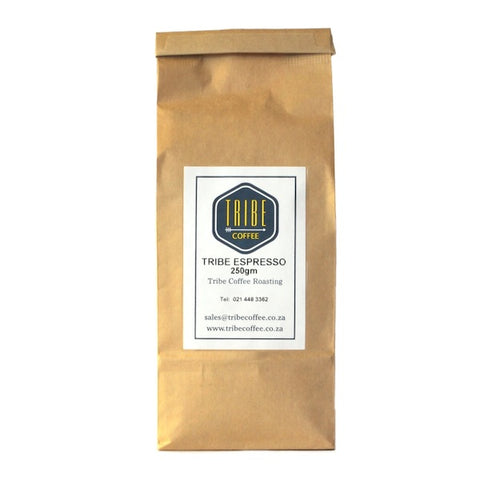 Tribe Coffee Espresso Blend Paper Bag
