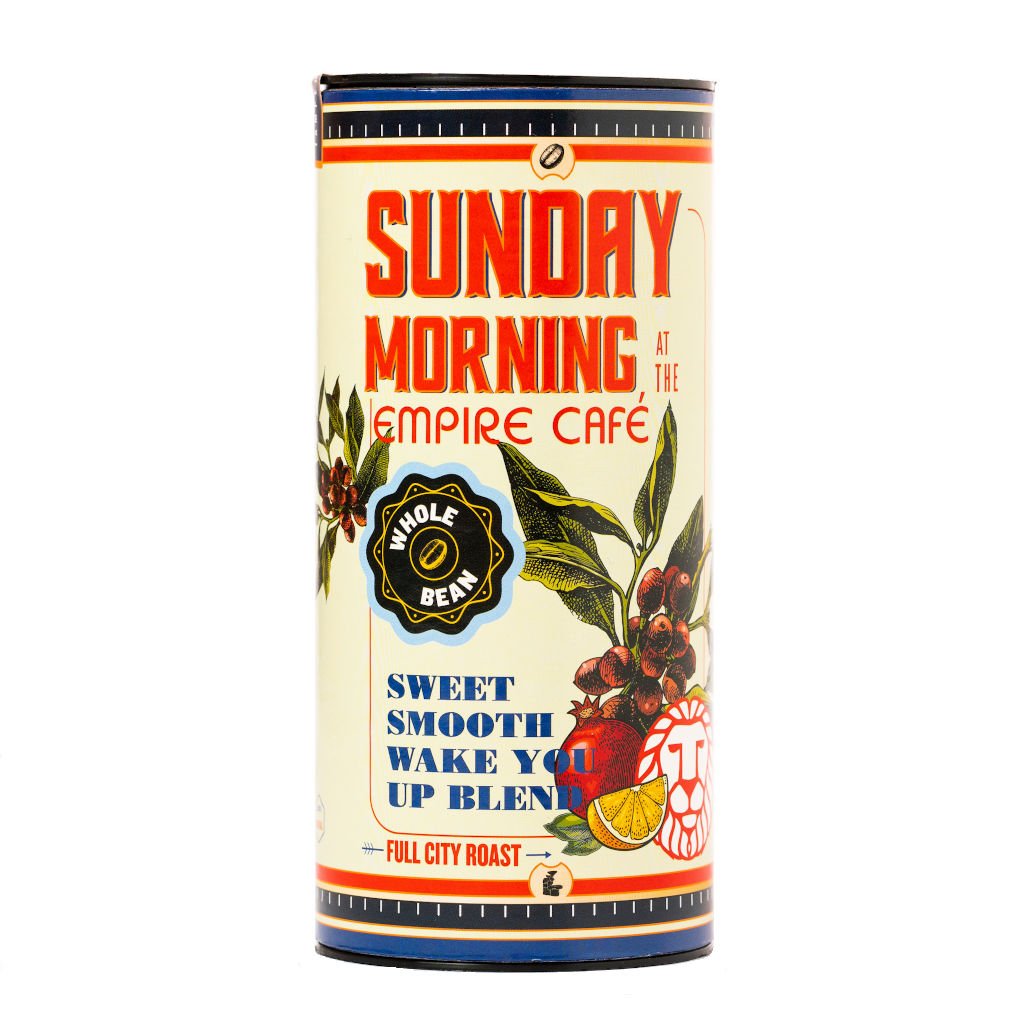 Tribe Sunday Morning At The Empire Cafe Blend Tin Pack