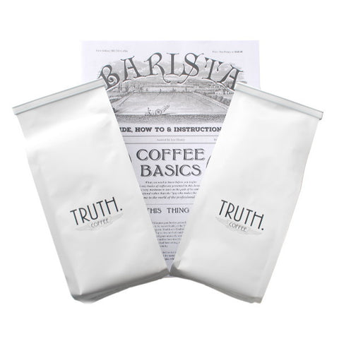 Truth Coffee Bean Bundle With Barista Basics Booklet