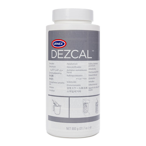 Urnex Dezcal limescale detergent for coffee machines
