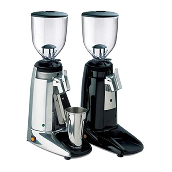 Wega Max 6.4 Shop Grinder Chrome & Black
