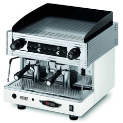 Wega Orion Compact 2 Group Commercial Automatic Espresso Machine White Front