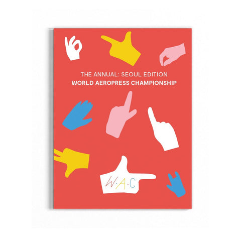 World Aeropress Championship Annual Book 2017