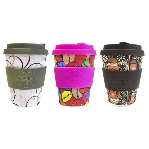 eCoffee Cups Project Waterfall - 3 Styles