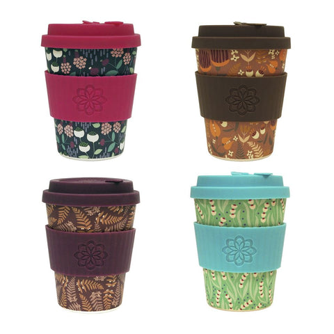 eCoffee Cups Tiny Garden 4 Designs