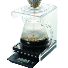 Hario V60 Drip Station Angle View With Accessories