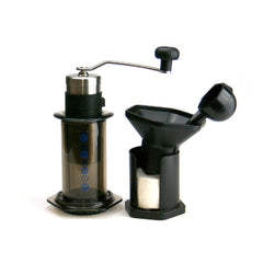 Porlex Mini coffee grinder with Aeropress
