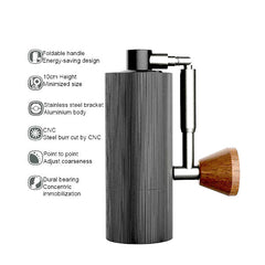 Timemore Nano Manual Coffee Grinder Specs