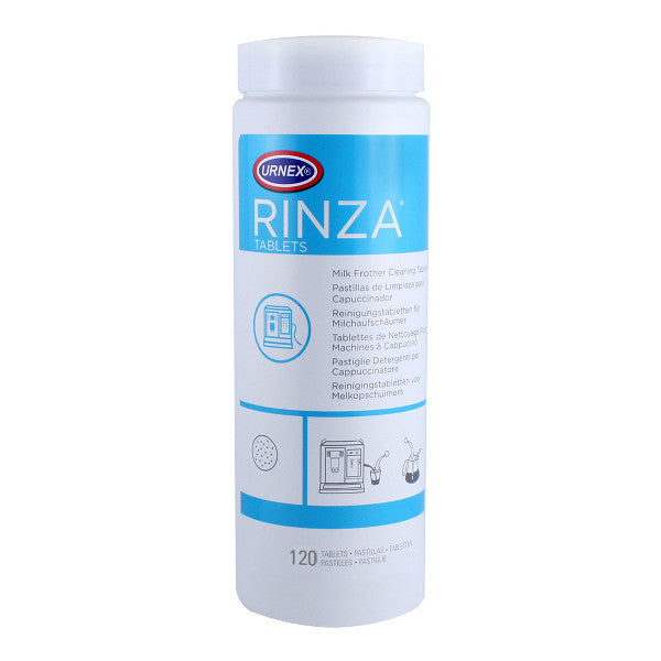 Urnex Rinza Milk Frother Cleaner - 120 Tablet Tub