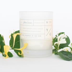 Young Gentry Candle #11, AmbarIonicera 10 oz.