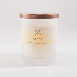 Young Gentry Candle, Grace, 2.5 oz.