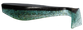 Green/Black Back Fat Boy Swimbait