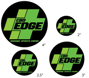 CBD EDGE Plus Sticker 3""