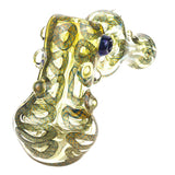 Swirl Fumed Glass Hammer Donut Bubbler/Pipe For Sale | Free Shipping