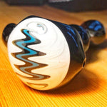 Large Wig Wag Glass Spoon Pipe | Weed Bowls For Sale | Free Shipping